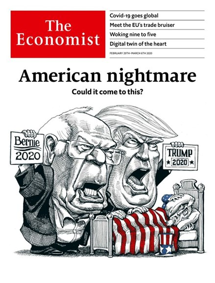 The Economist Cover - 2/29/2020