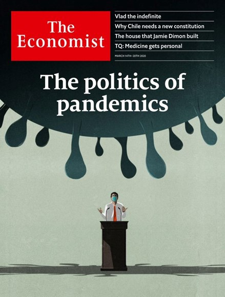The Economist Cover - 3/14/2020