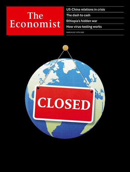 The Economist Cover - 3/21/2020