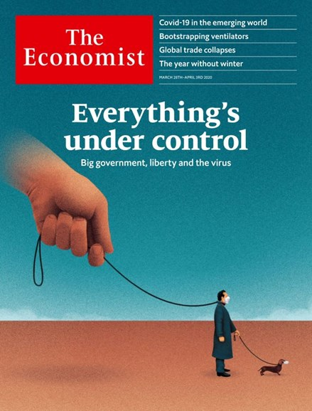 The Economist Cover - 3/28/2020