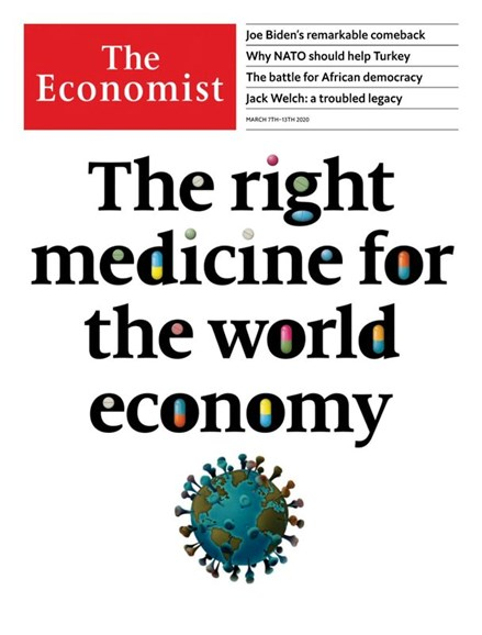 The Economist Cover - 3/7/2020