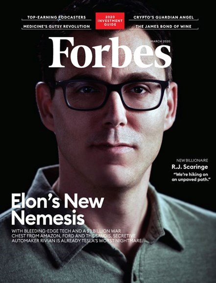 Forbes Cover - 3/1/2020