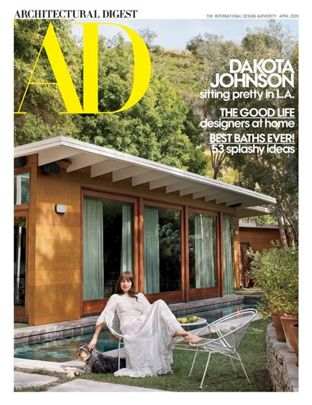 Architectural Digest Cover - 4/1/2020