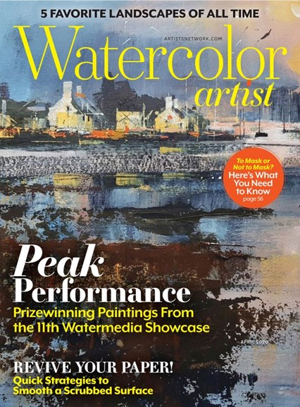 Watercolor Artist Cover - 4/1/2020