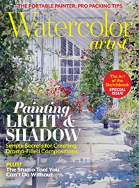 Watercolor Artist Magazine   6/2020 Cover