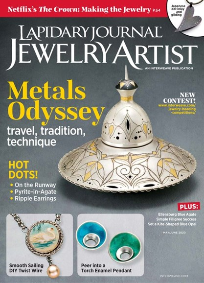 Lapidary Journal Jewelry Artist Cover - 5/1/2020