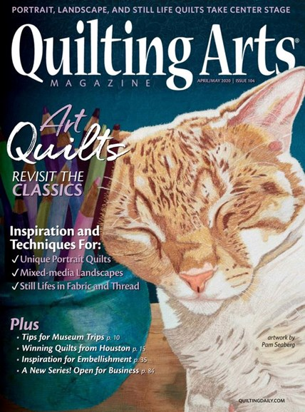 Quilting Arts Cover - 4/1/2020