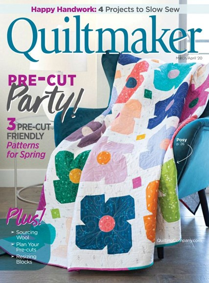 Quiltmaker Cover - 3/1/2020
