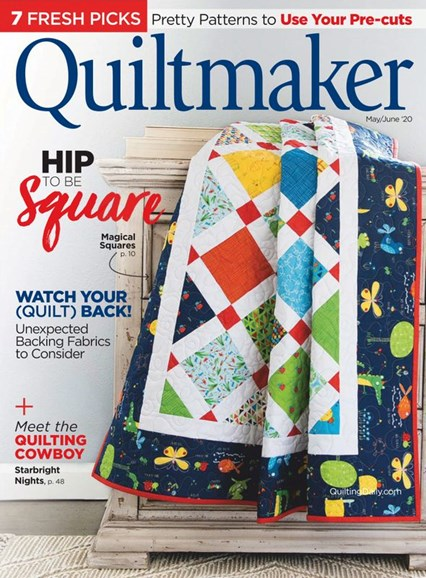 Quiltmaker Cover - 5/1/2020