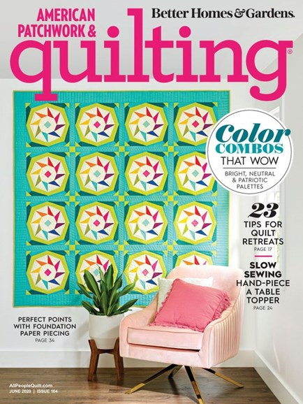 American Patchwork & Quilting Cover - 6/1/2020