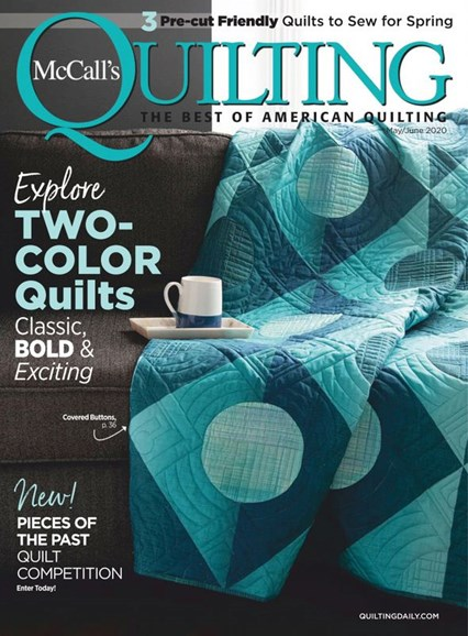 McCall's Quilting Cover - 5/1/2020