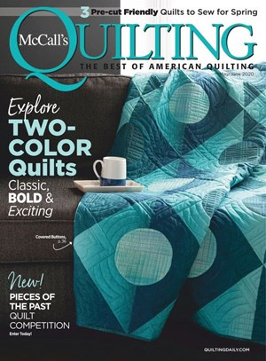 Mccall's Quilting Magazine | 5/2020 Cover