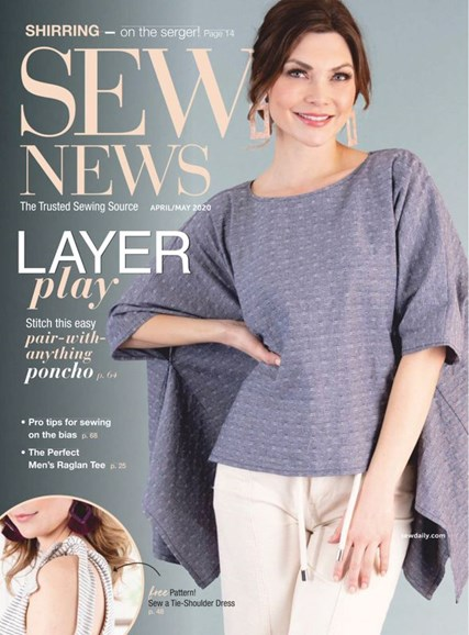 Sew News Cover - 4/1/2020