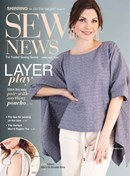 Sew News | 4/2020 Cover