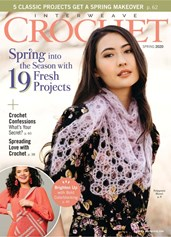 Interweave Crochet | 3/2020 Cover