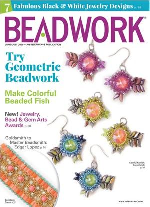Beadwork Magazine | 6/2020 Cover