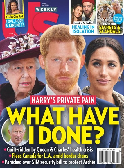 Us Weekly Cover - 4/13/2020