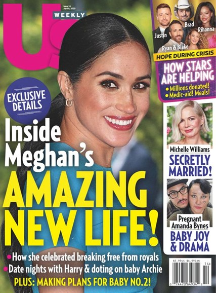 Us Weekly Cover - 4/6/2020