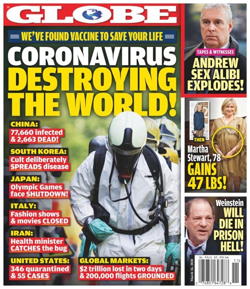 Globe Cover - 3/16/2020