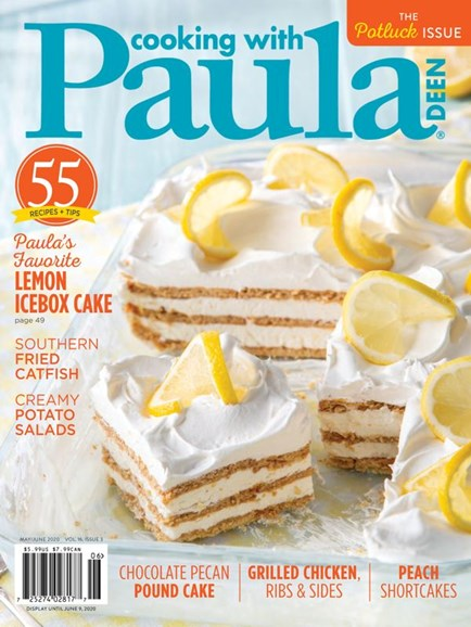 Cooking With Paula Deen Cover - 5/1/2020