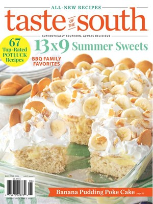 Taste Of The South Magazine | 5/2020 Cover