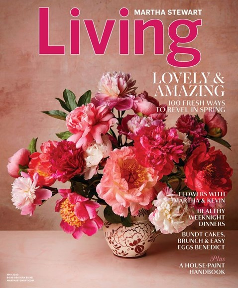 Martha Stewart Living Cover - 5/1/2020