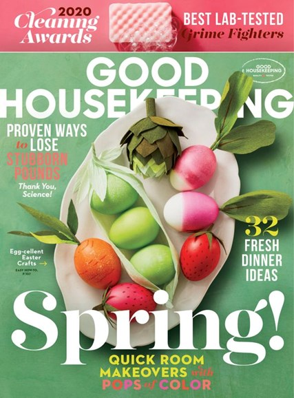 Good Housekeeping Cover - 4/1/2020