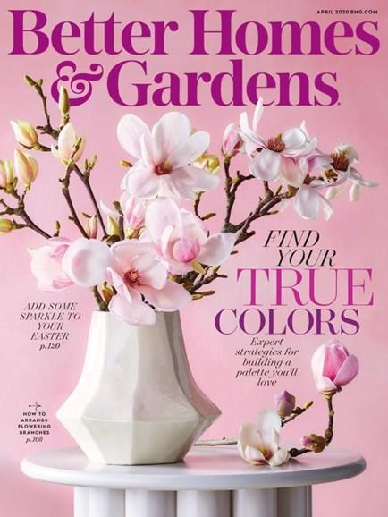 Better Homes & Gardens Cover - 4/1/2020