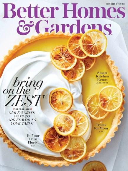 Better Homes & Gardens Cover - 5/1/2020