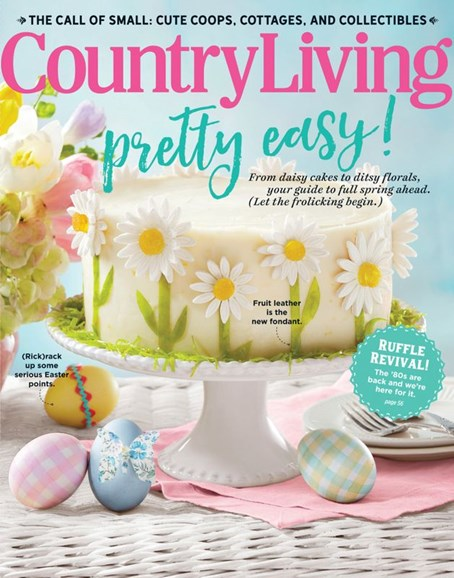 Country Living Cover - 4/1/2020
