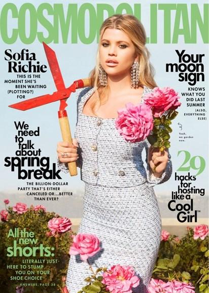Cosmopolitan Cover - 4/1/2020