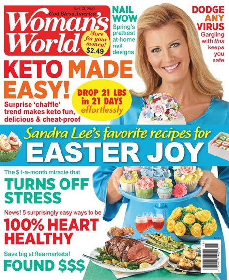 Woman's World Cover - 4/13/2020