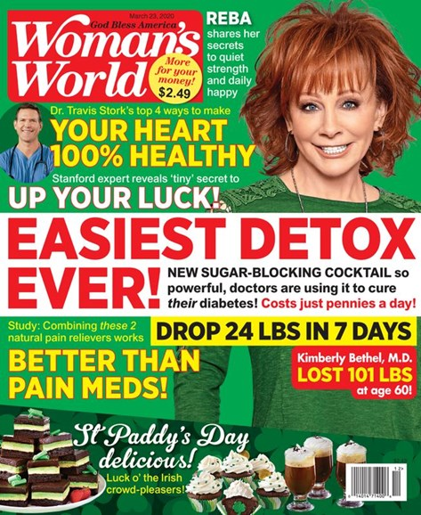 Woman's World Cover - 3/23/2020