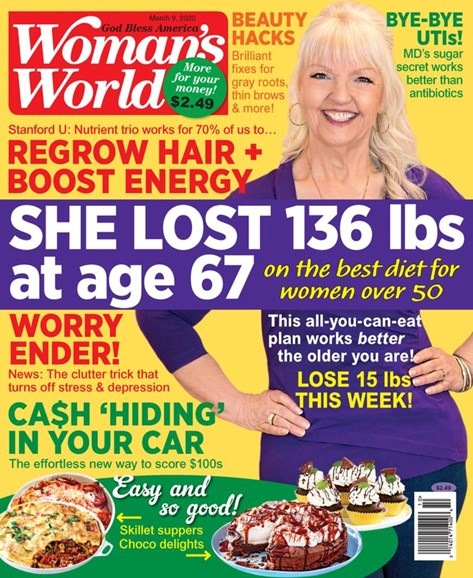 Woman's World Cover - 3/6/2020
