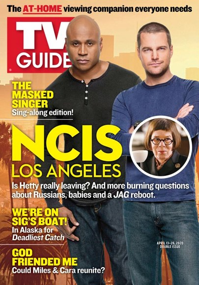 TV Guide Cover - 4/13/2020