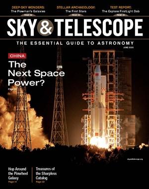 Sky & Telescope Magazine | 6/2020 Cover
