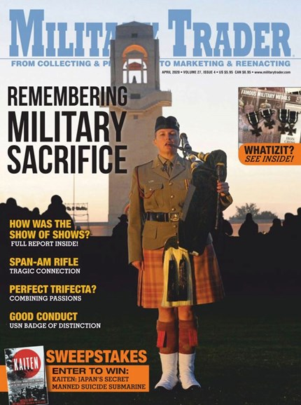 Military Trader Cover - 4/1/2020