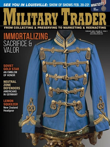 Military Trader Cover - 2/1/2020