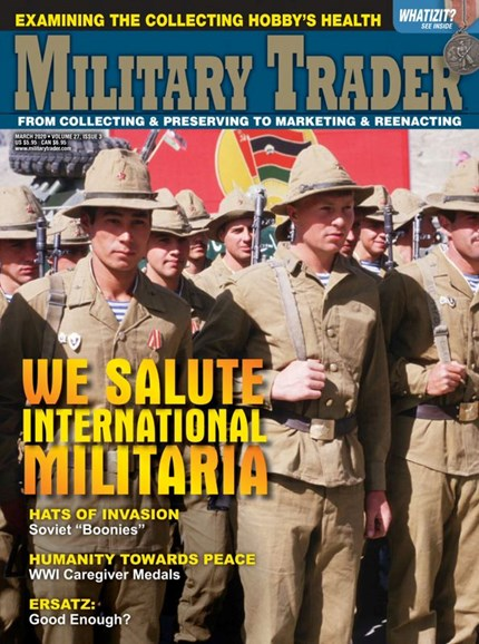Military Trader Cover - 3/1/2020