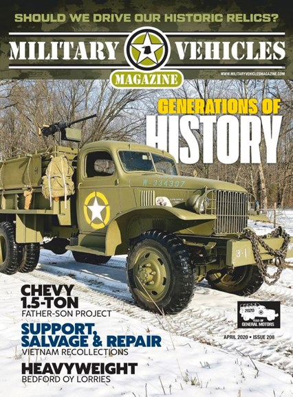 Military Vehicles Cover - 4/1/2020