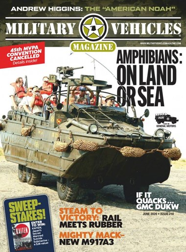Military Vehicles | 6/2020 Cover