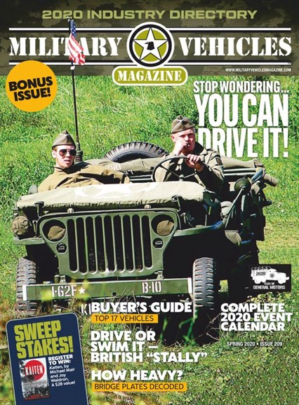 Military Vehicles Cover - 5/1/2020