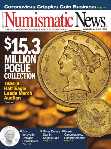 Numismatic News Cover - 4/14/2020