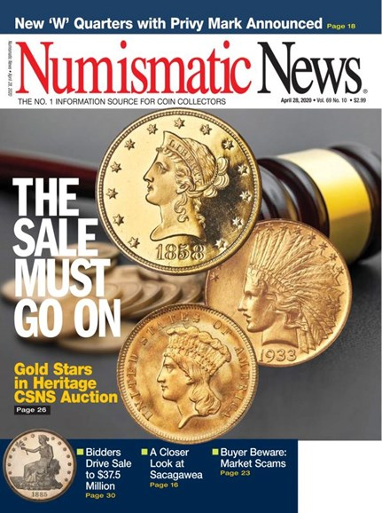 Numismatic News Cover - 4/28/2020