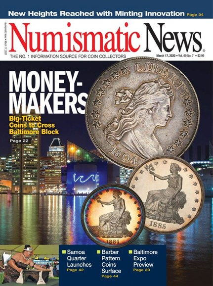 Numismatic News Cover - 3/17/2020