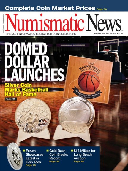 Numismatic News Cover - 3/31/2020