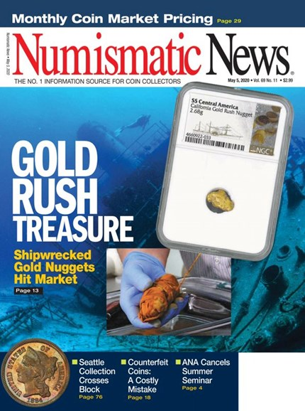 Numismatic News Cover - 5/5/2020