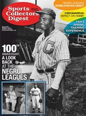 Sports Collectors Digest | 4/2020 Cover