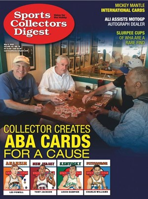 Sports Collectors Digest | 5/8/2020 Cover