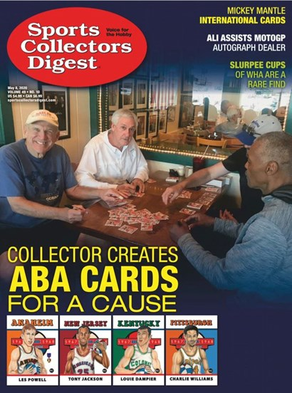 Sports Collectors Digest   5/2020 Cover